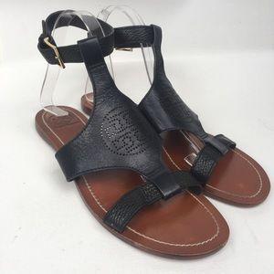 TORY BURCH Dark Navy Sandals Sz 8.5M